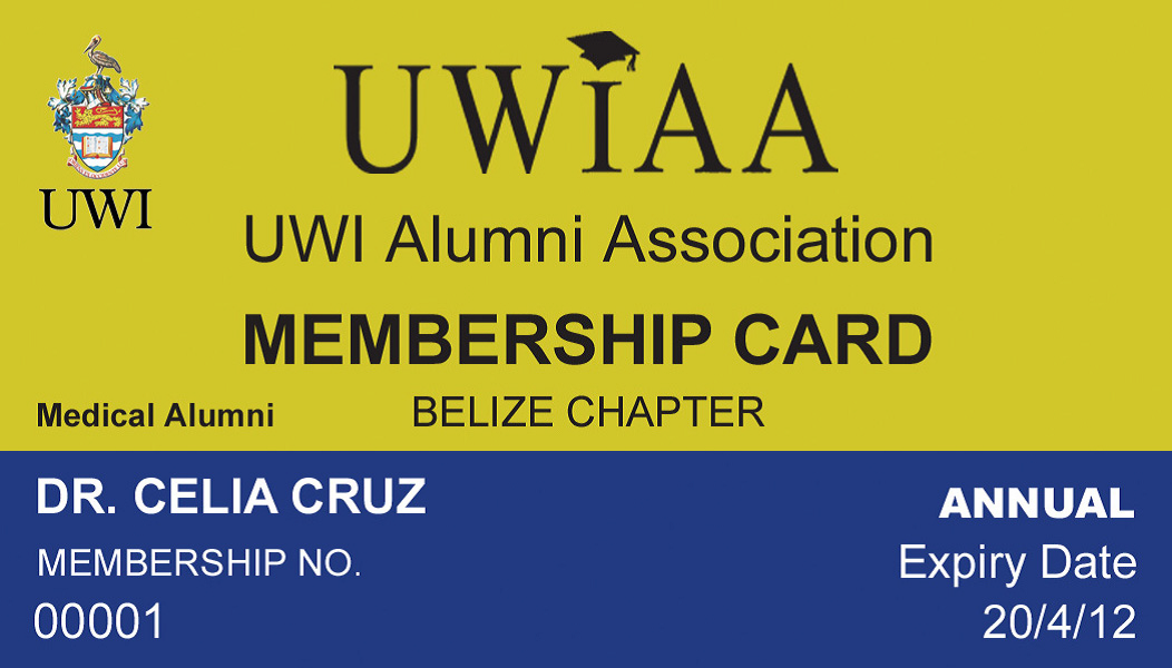 UWIAA Membership Card
