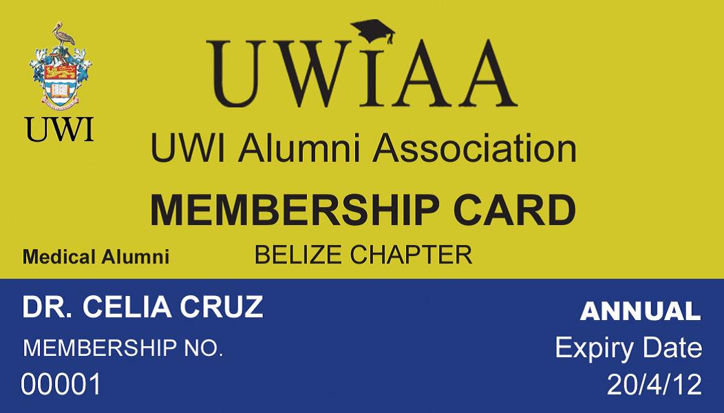 UWIAA Membership Card